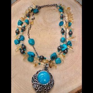 Barse Stone Necklace